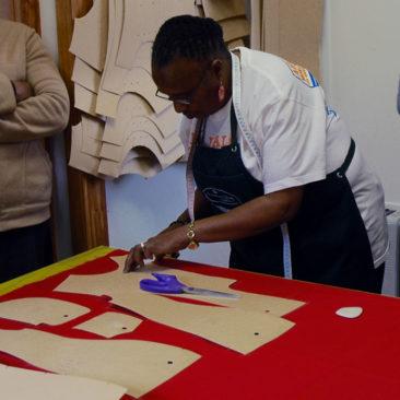 Couture d'uniformes scolaires pour les plus démunis au Swaziland