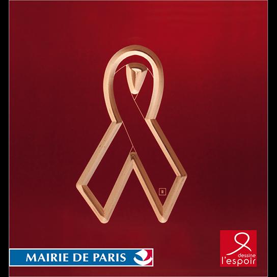 Diffusion de préservatifs avec la mairie de Paris