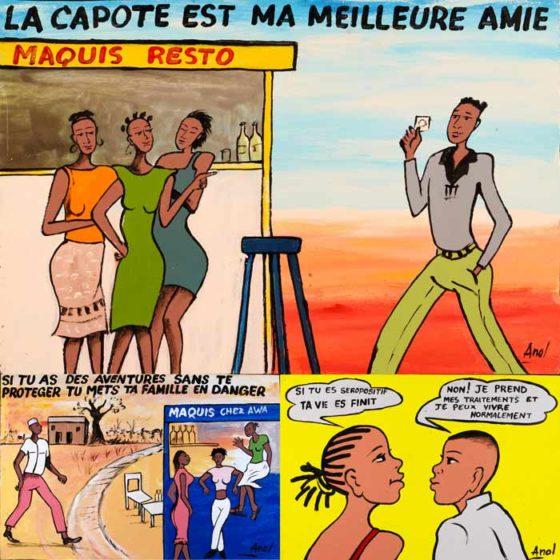 Distribution de préservatifs et prévention des jeunes au Burkina Faso