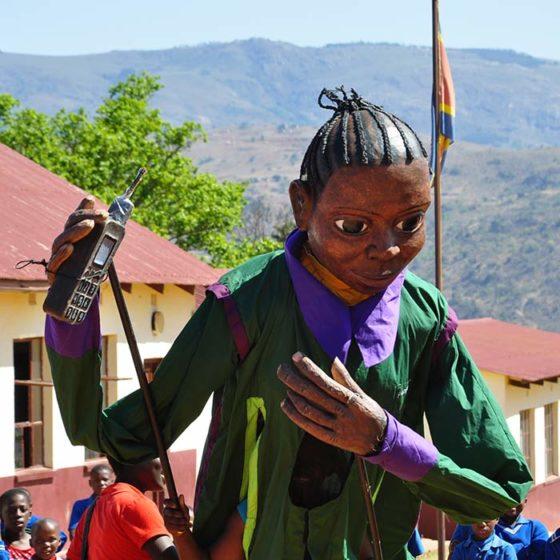 Marionnettes Géantes au Swaziland